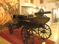 Civil War machinegun cart